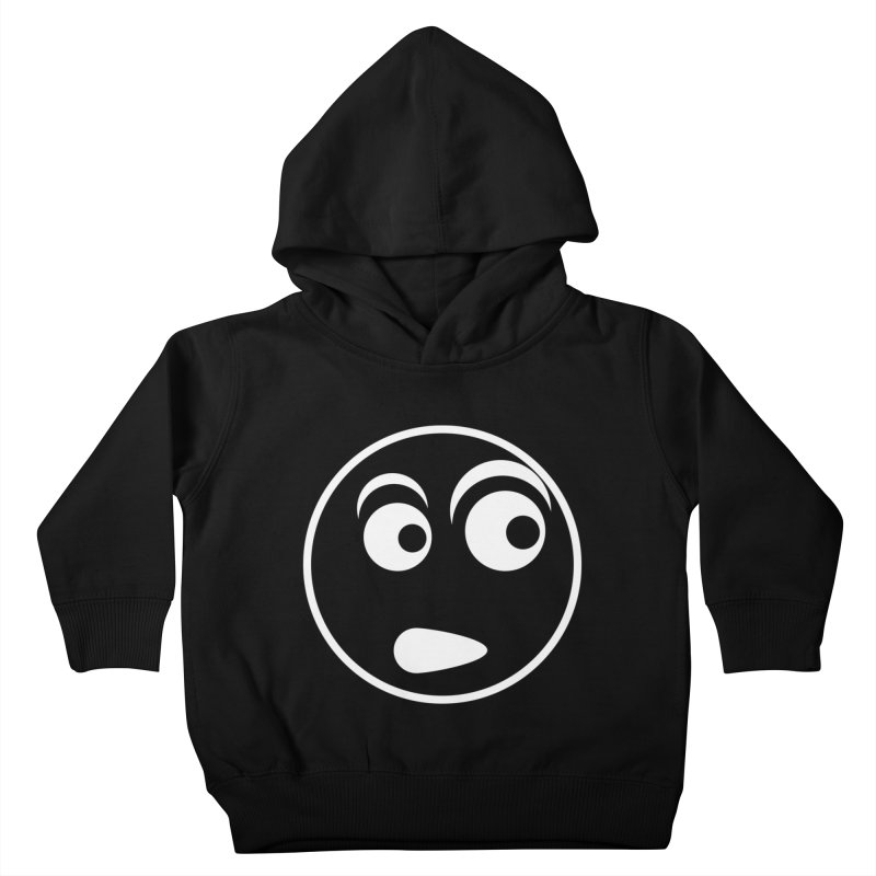 Uh What? (White) Kids Toddler Pullover Hoody by TYNICKO Random Randoms Shop