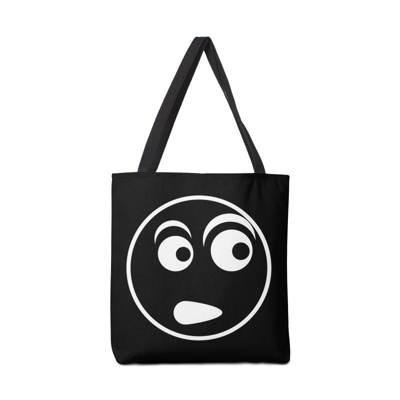 Uh What? (White) Accessories Bag by TYNICKO Random Randoms Shop