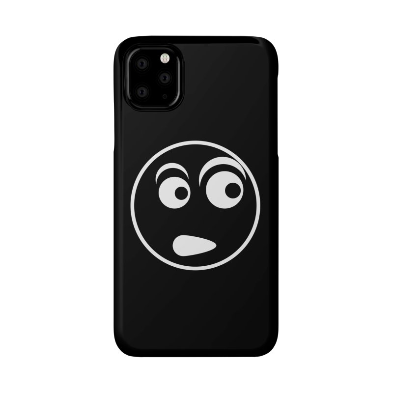 Uh What? (White) Accessories Phone Case by TYNICKO Random Randoms Shop
