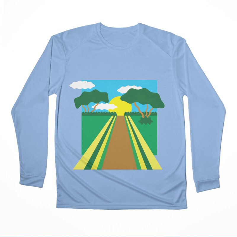 Country Path Women's Longsleeve T-Shirt by TYNICKO Random Randoms Shop