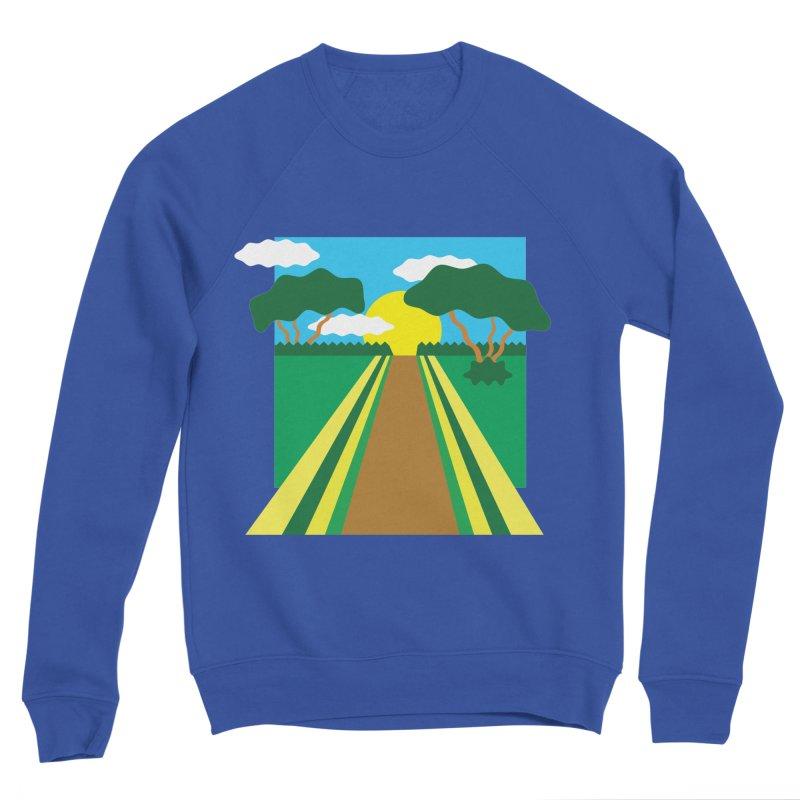 Country Path Men's Sweatshirt by TYNICKO Random Randoms Shop