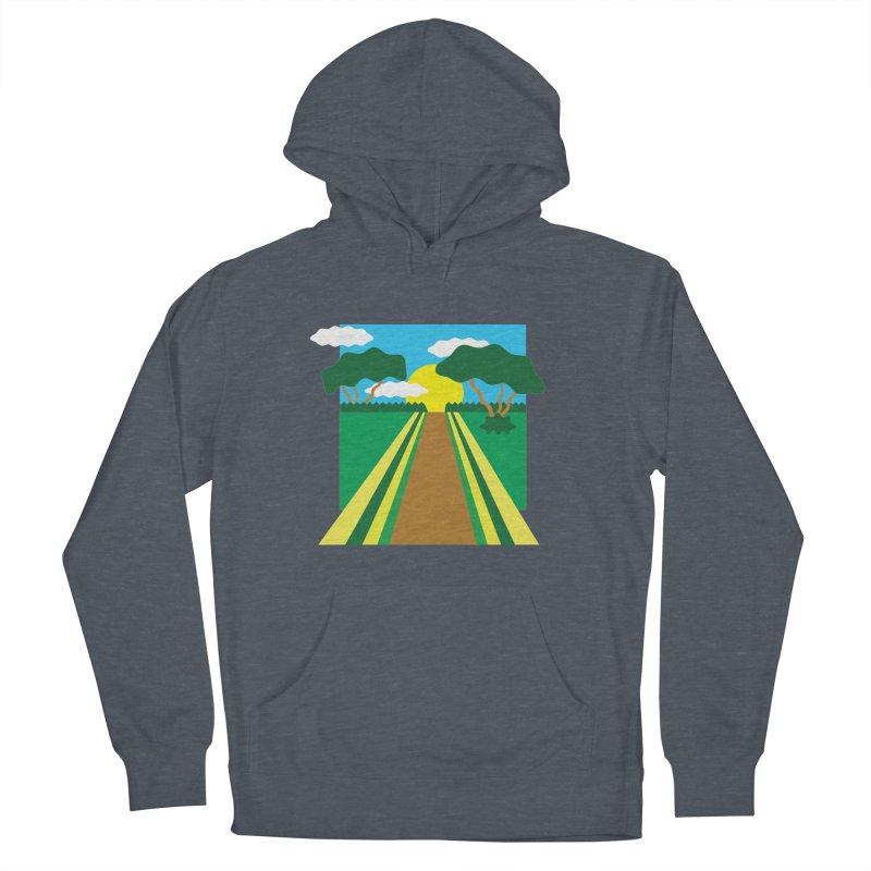 Country Path Men's Pullover Hoody by TYNICKO Random Randoms Shop