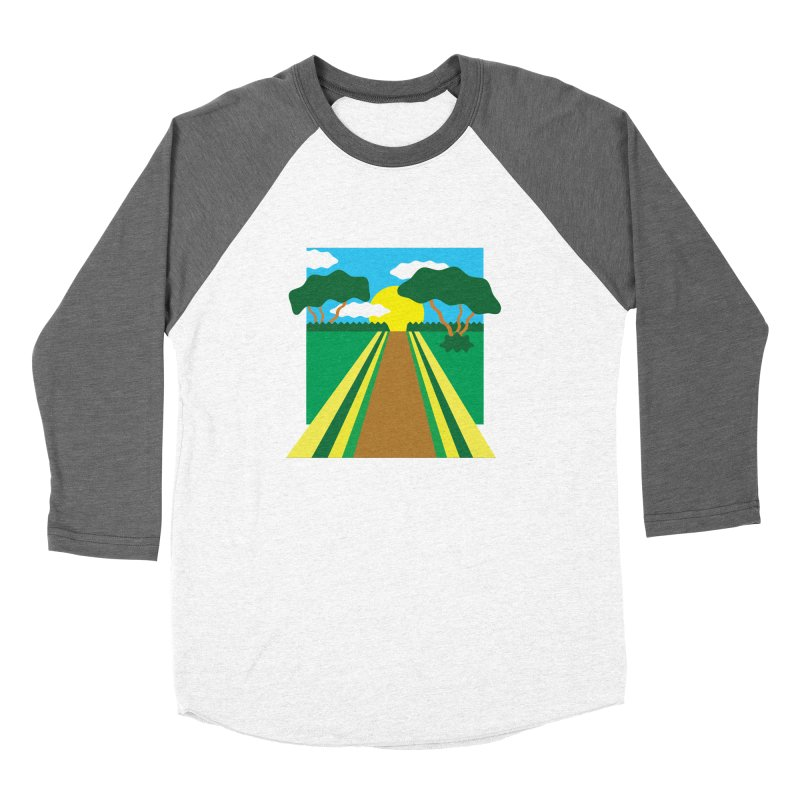 Country Path Women's Longsleeve T-Shirt by TYNICKO Random Randoms Shop