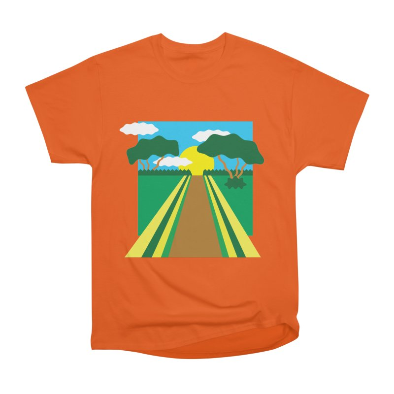 Country Path Men's T-Shirt by TYNICKO Random Randoms Shop