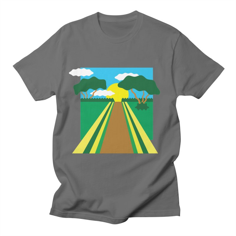 Country Path Men's T-Shirt by TYNICKO Random Randoms Shop
