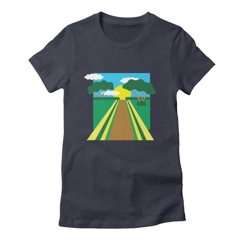 Country Path Women's T-Shirt by TYNICKO Random Randoms Shop