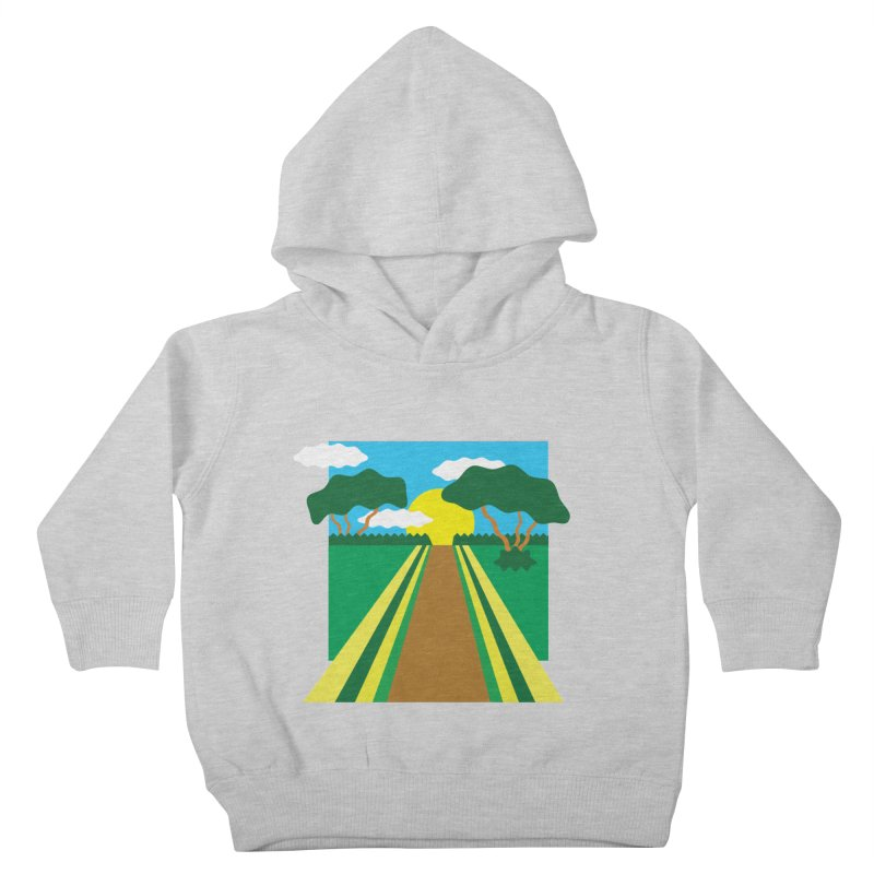 Country Path Kids Toddler Pullover Hoody by TYNICKO Random Randoms Shop