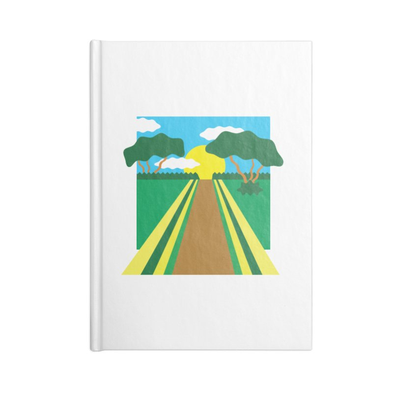 Country Path Accessories Notebook by TYNICKO Random Randoms Shop