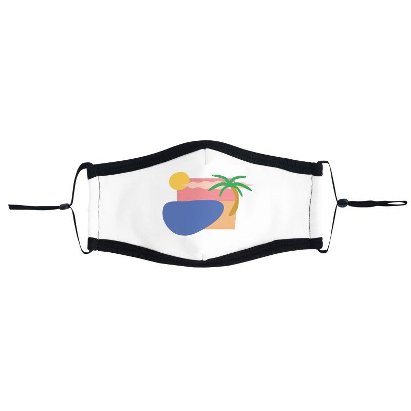 Beach Accessories Face Mask by TYNICKO Random Randoms Shop