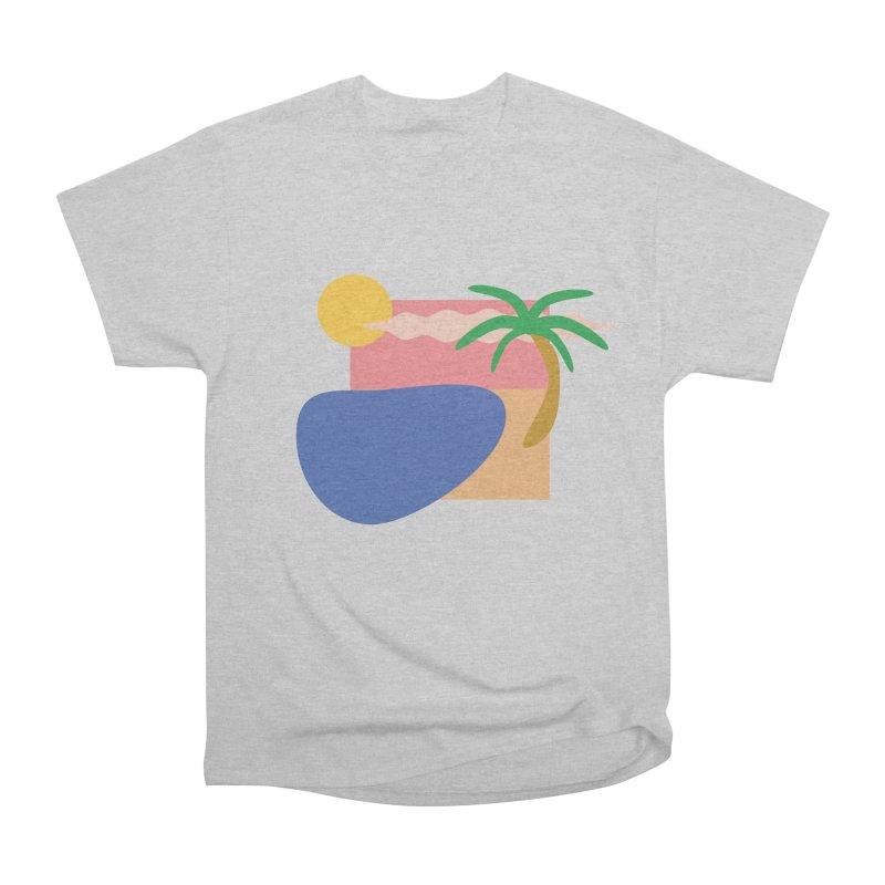 Beach Men's T-Shirt by TYNICKO Random Randoms Shop