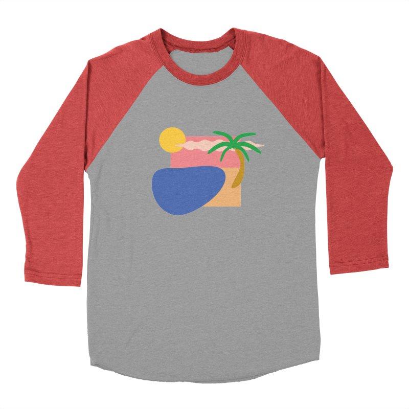Beach Women's Longsleeve T-Shirt by TYNICKO Random Randoms Shop