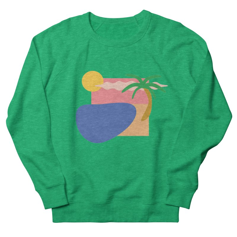Beach Women's Sweatshirt by TYNICKO Random Randoms Shop
