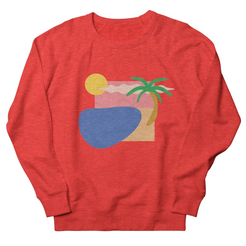 Beach Men's Sweatshirt by TYNICKO Random Randoms Shop