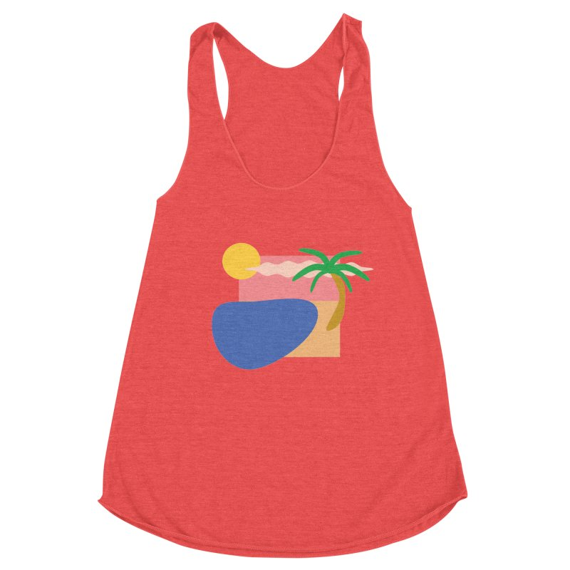 Beach Women's Tank by TYNICKO Random Randoms Shop