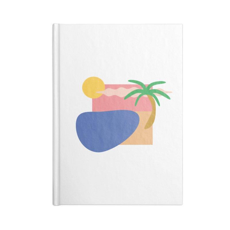 Beach Accessories Notebook by TYNICKO Random Randoms Shop