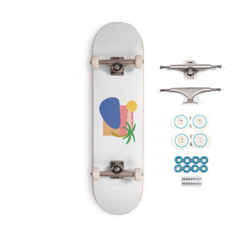 Beach Accessories Skateboard by TYNICKO Random Randoms Shop
