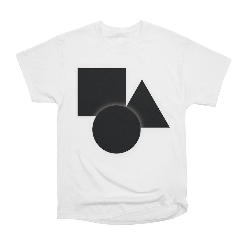 Basic Dark Shapes Women's T-Shirt by TYNICKO Random Randoms Shop