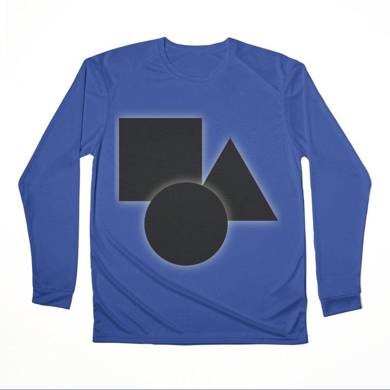 Basic Dark Shapes Women's Longsleeve T-Shirt by TYNICKO Random Randoms Shop
