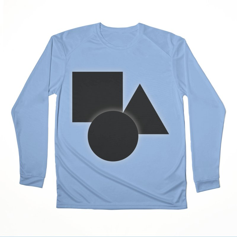 Basic Dark Shapes Women's Longsleeve T-Shirt by TYNICKO Random Randoms Shop