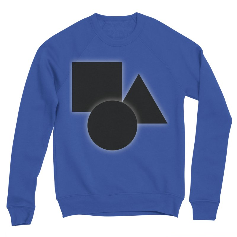 Basic Dark Shapes Men's Sweatshirt by TYNICKO Random Randoms Shop