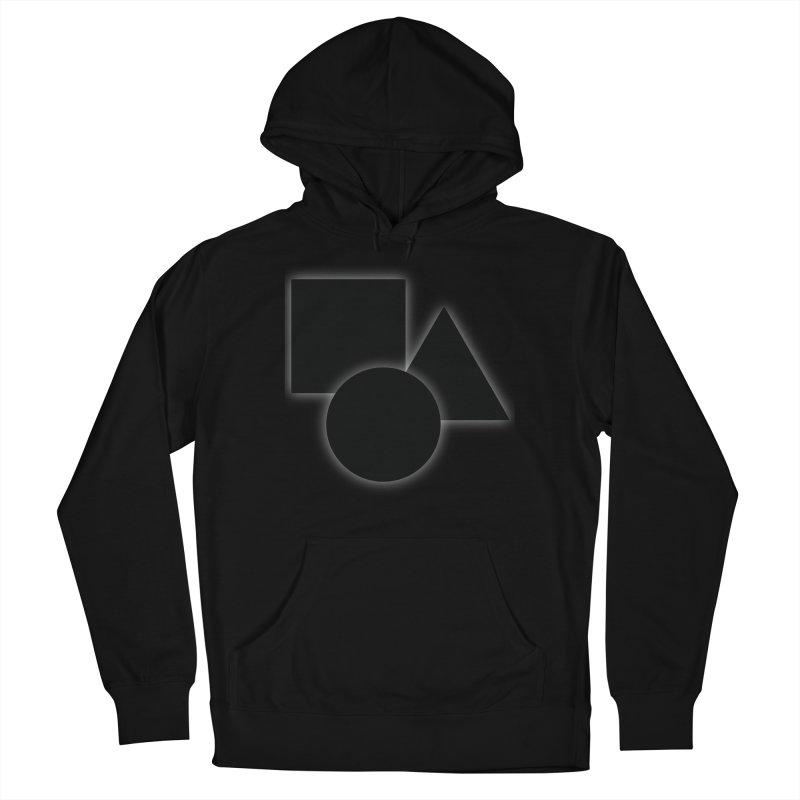 Basic Dark Shapes Men's Pullover Hoody by TYNICKO Random Randoms Shop