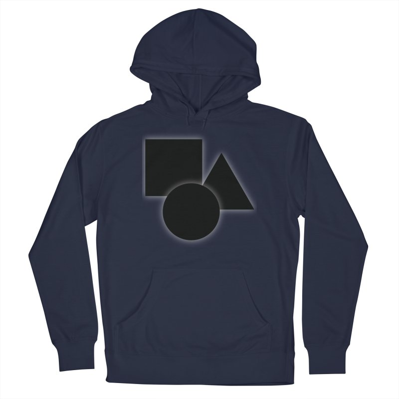 Basic Dark Shapes Men's Pullover Hoody by TYNICKO Random Randoms Shop