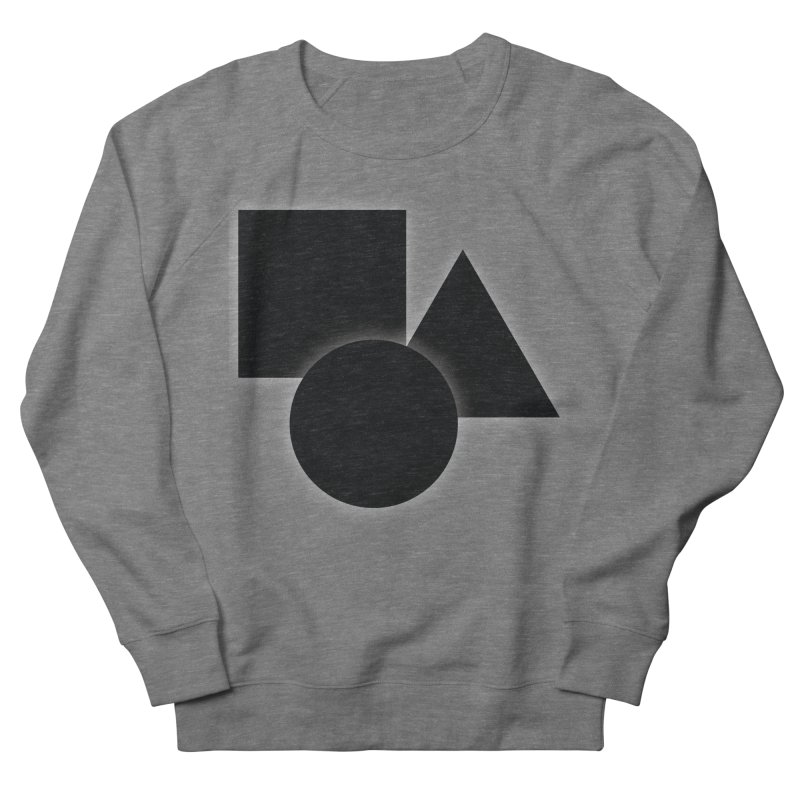 Basic Dark Shapes Women's Sweatshirt by TYNICKO Random Randoms Shop
