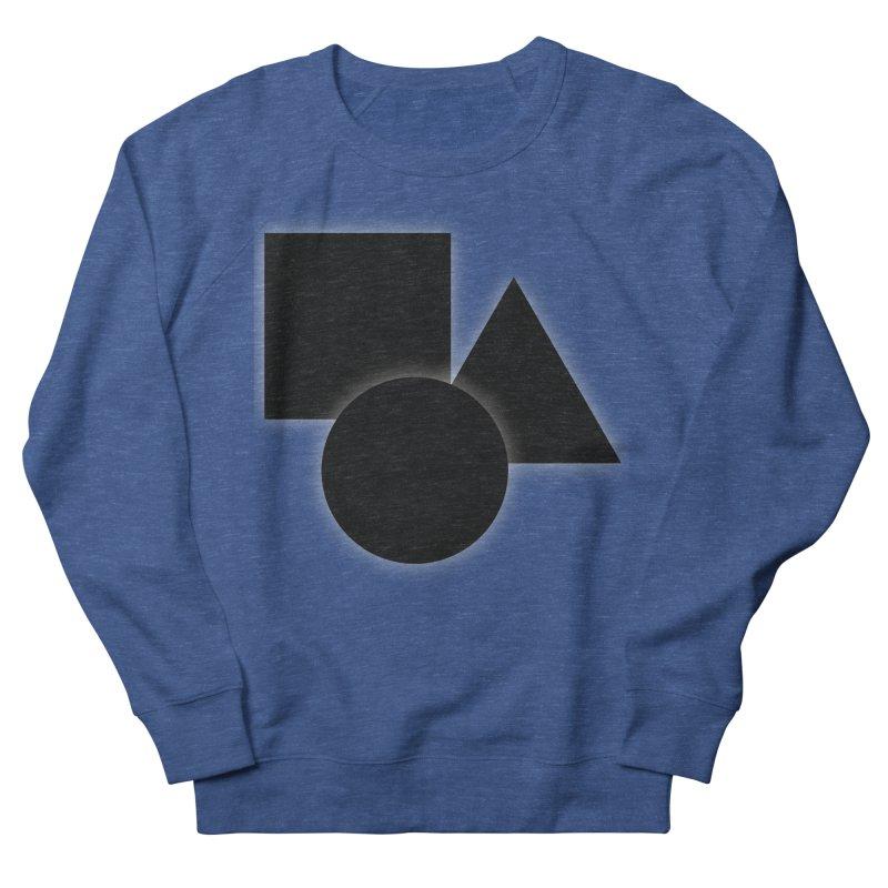 Basic Dark Shapes Men's Sweatshirt by TYNICKO Random Randoms Shop