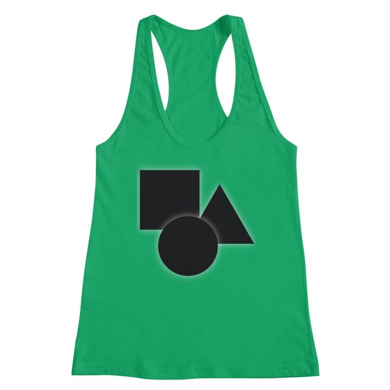 Basic Dark Shapes Women's Tank by TYNICKO Random Randoms Shop