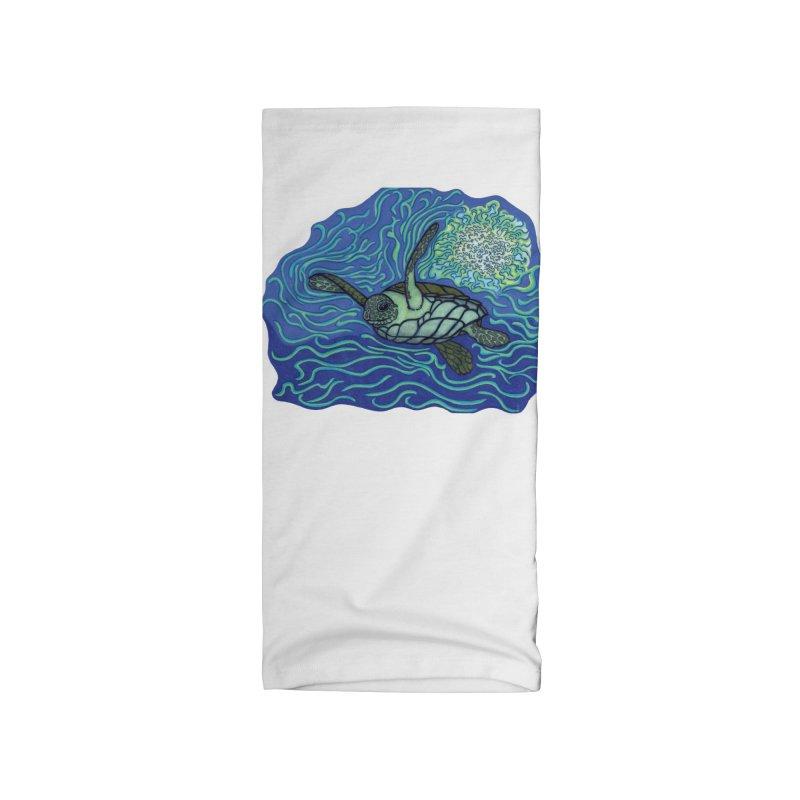 Sea Turtle in Ocean Sun Accessories Neck Gaiter by TYNICKO Random Randoms Shop