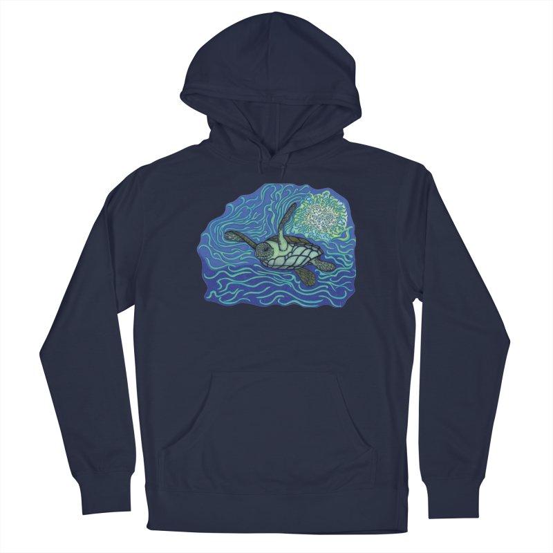 Sea Turtle in Ocean Sun Men's Pullover Hoody by TYNICKO Random Randoms Shop