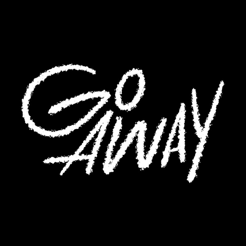 go away Accessories Neck Gaiter by type of guy's threadless artists shop
