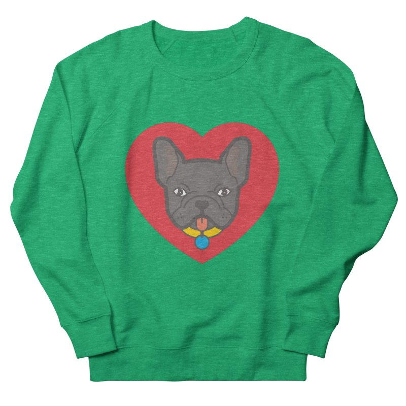 Love Your Frenchie Women's Sweatshirt by typonegative's Artist Shop