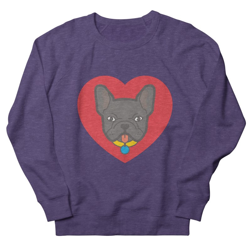 Love Your Frenchie Men's Sweatshirt by typonegative's Artist Shop