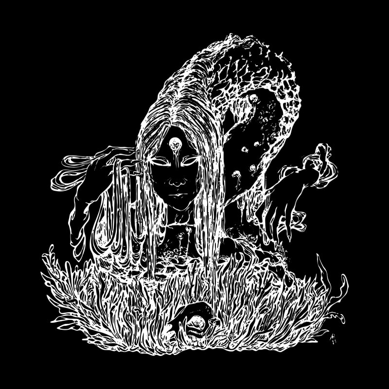 Snake Demon (negative) None by Tyxcly | Artist Shop