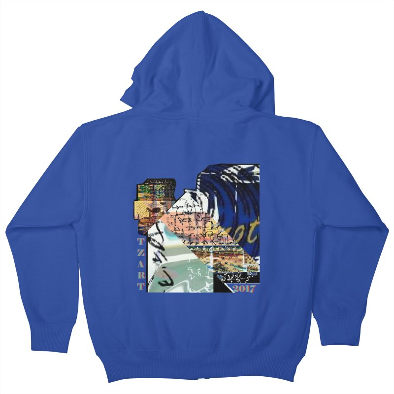 TZARTS WRK Kids Zip-Up Hoody by tzarts's Artist Shop