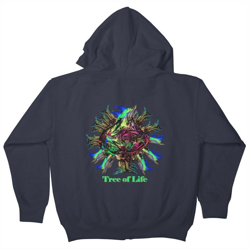 Tree of Life Kids Zip-Up Hoody by tzarts's Artist Shop