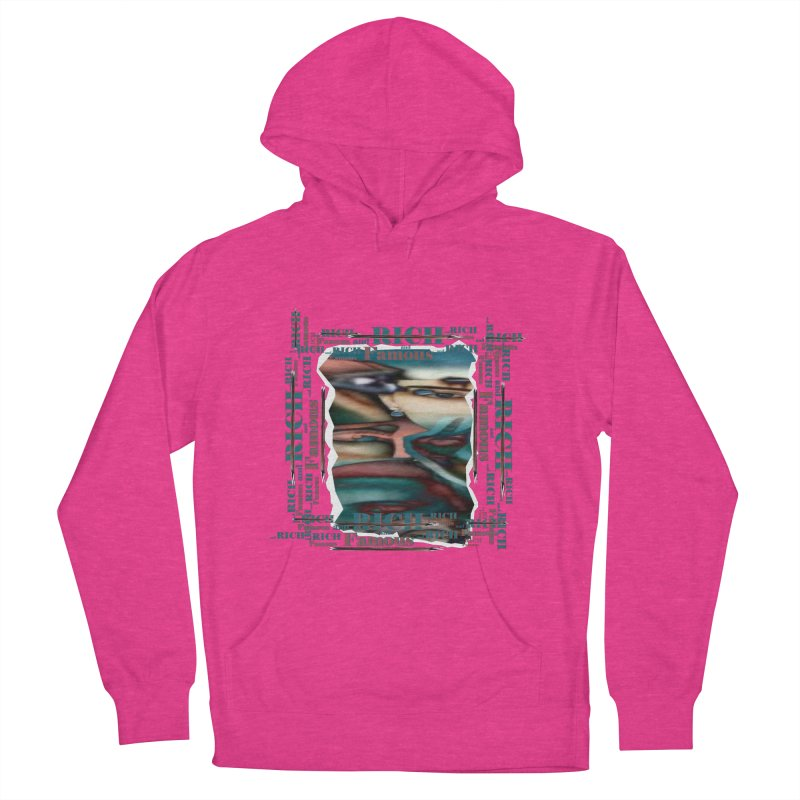 Rich and Famous Men's Pullover Hoody by tzarts's Artist Shop