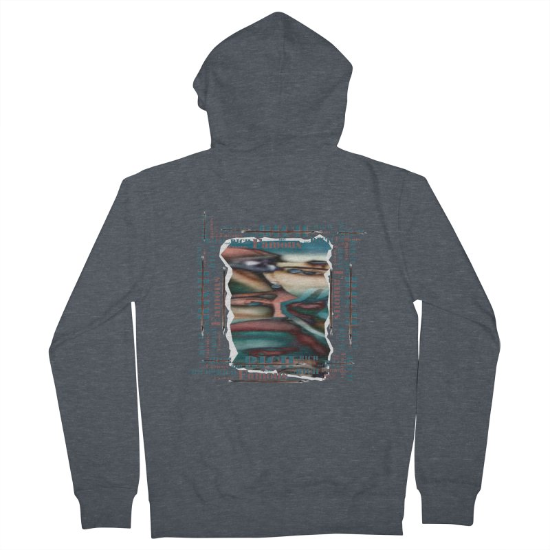 Rich and Famous Men's Zip-Up Hoody by tzarts's Artist Shop