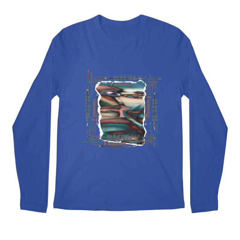 Rich and Famous Men's Longsleeve T-Shirt by tzarts's Artist Shop