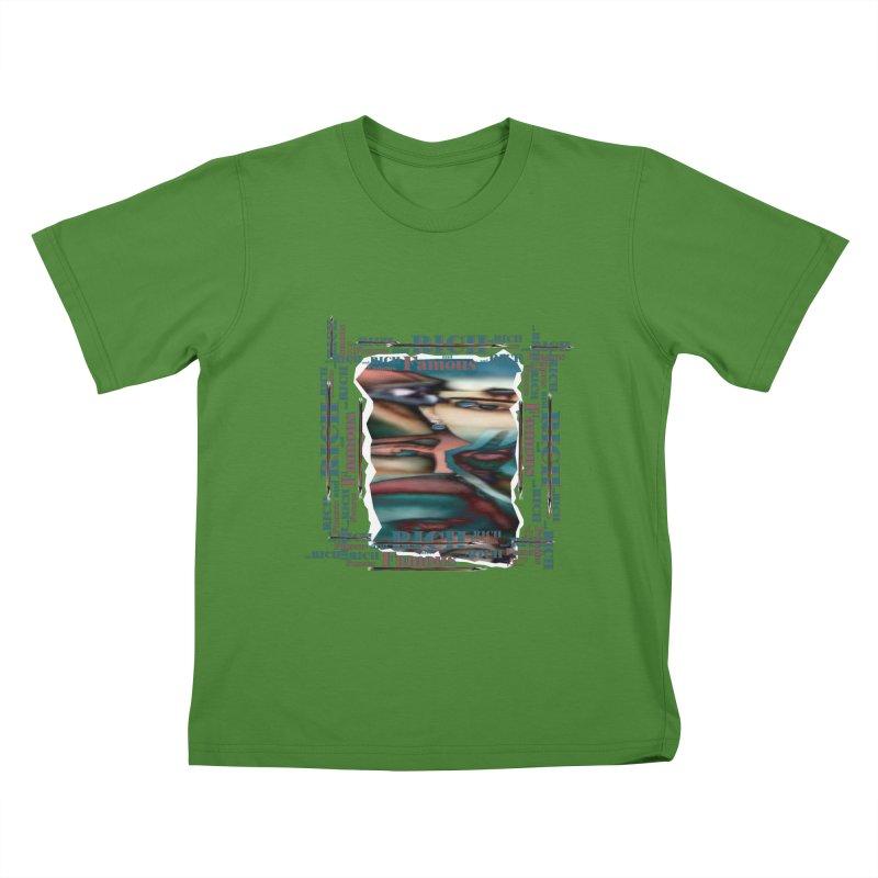 Rich and Famous Kids T-shirt by tzarts's Artist Shop