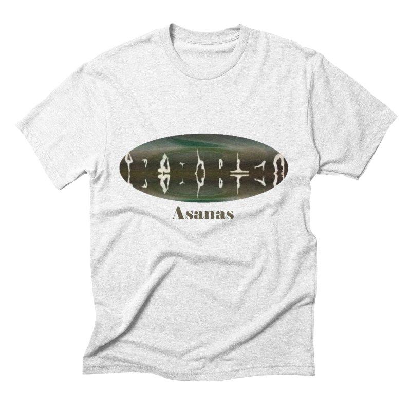 Asanas Men's Triblend T-shirt by tzarts's Artist Shop