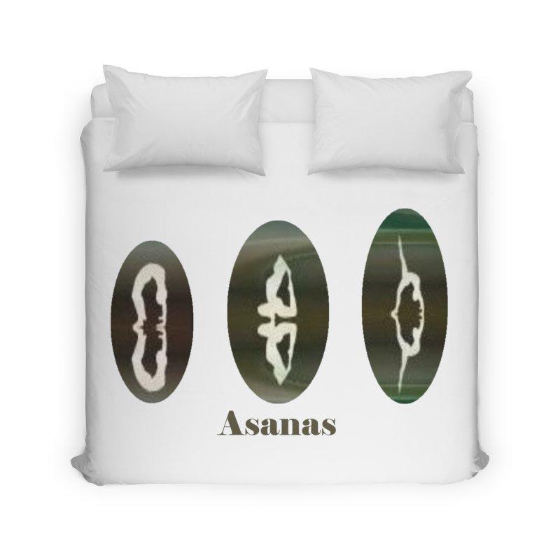 Asanas  Home Duvet by tzarts's Artist Shop