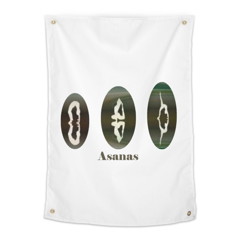 Asanas  Home Tapestry by tzarts's Artist Shop