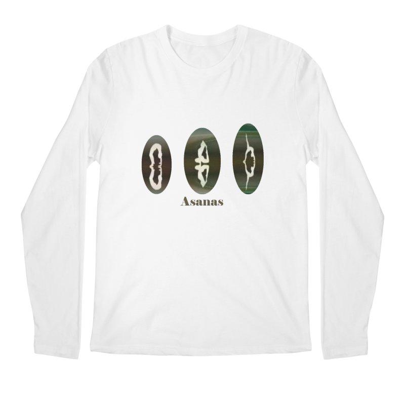 Asanas  Men's Longsleeve T-Shirt by tzarts's Artist Shop