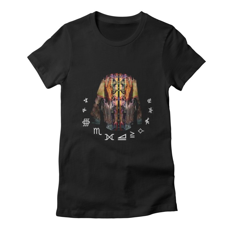 First Contact Women's Fitted T-Shirt by tzarts's Artist Shop