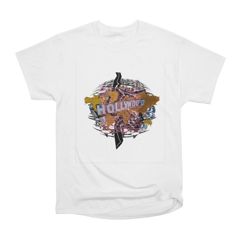 Holly Wood Men's Classic T-Shirt by tzarts's Artist Shop