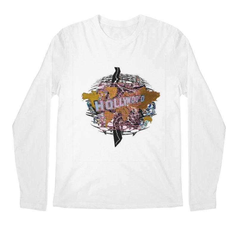 Holly Wood Men's Longsleeve T-Shirt by tzarts's Artist Shop