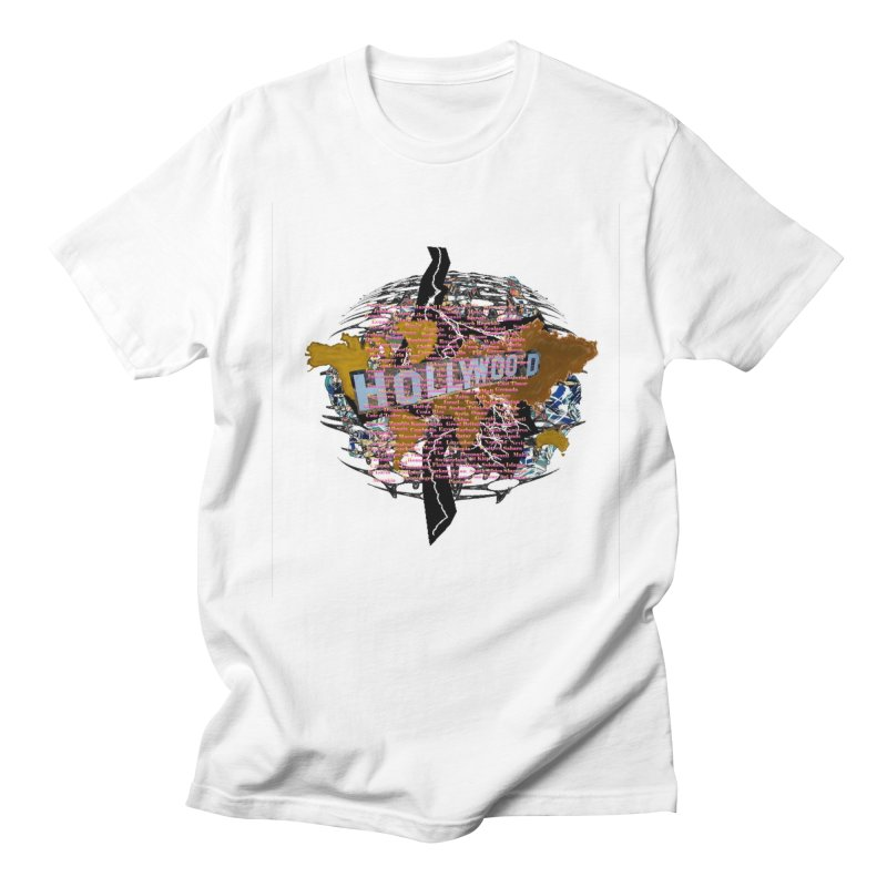 Holly Wood Women's Unisex T-Shirt by tzarts's Artist Shop
