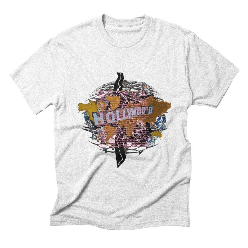 Holly Wood Men's Triblend T-shirt by tzarts's Artist Shop
